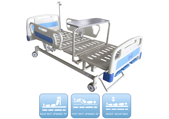 DW-BD147 Manual bed with three funnctions