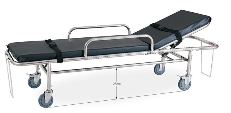 DW-SS005 Stainless steel ambulance stretcher