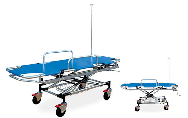 DW-ST011 Aluminum alloy emergency bed