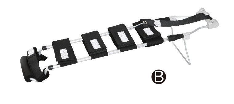 DW-FA004 For Chlid Aluminum alloy traction splint set