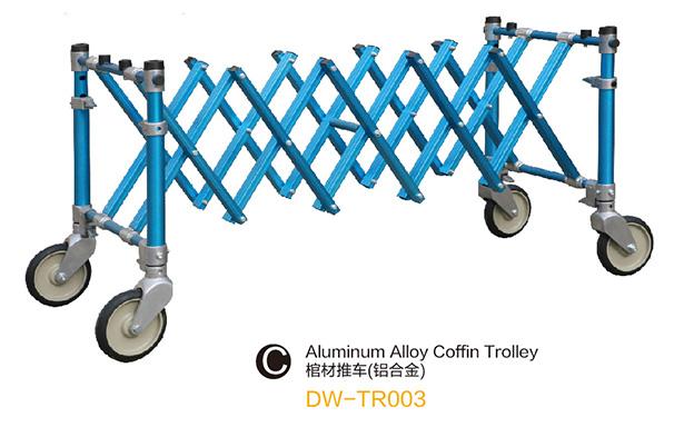 DW-TR003 Aluminum alloy coffin trolley
