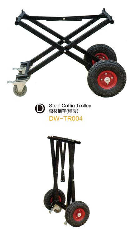 DW-TR004 Steel coffin trolley