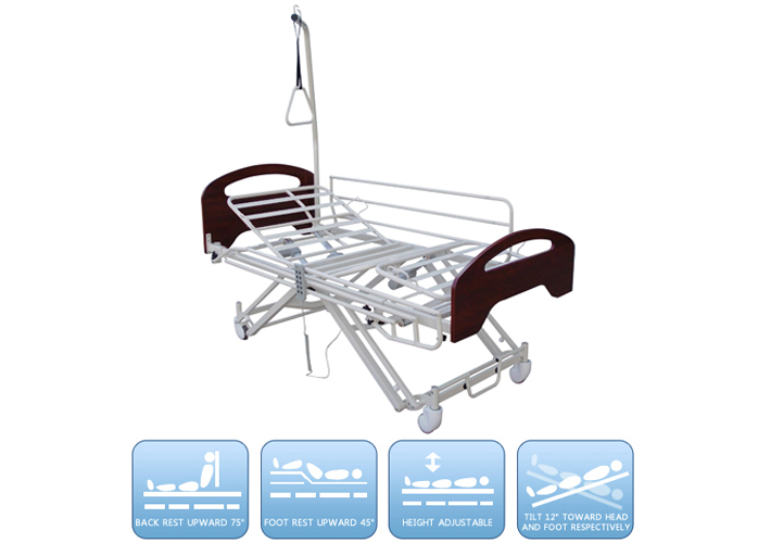 DW-BD139 Electric nursing bed with five functions