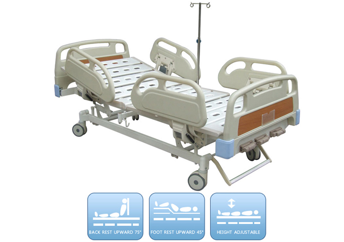 DW-BD155 Manual bed with three functions