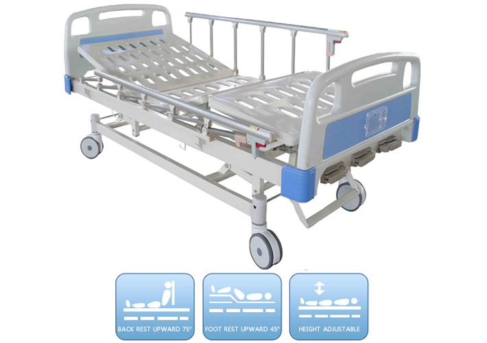 DW=BD156 Manual bed with three functions