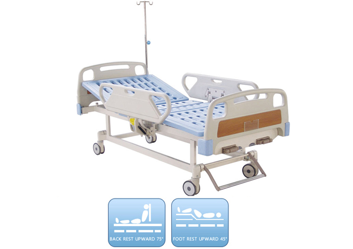 DW-BD163 Manual bed with two functions
