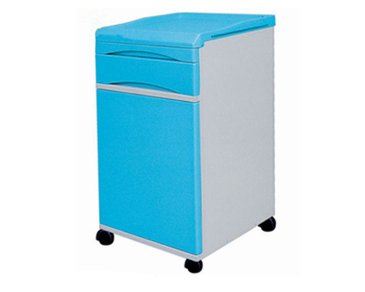 Commercial Furniture Medical ABS Bedside Cabinet with Locker
