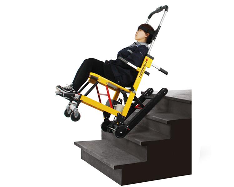 Powered Folding Wheelchair Stair Climber for Elderly