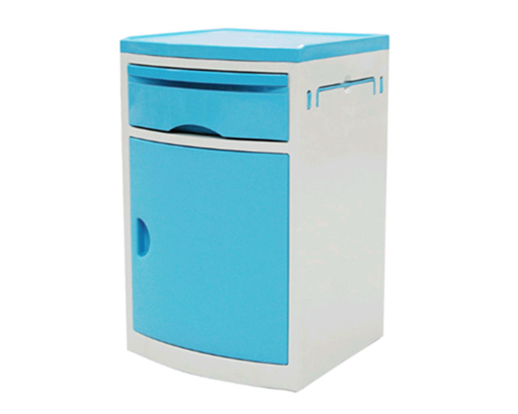 ABS Movable Medical Bedside Cabinet