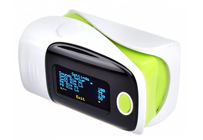 Fingertip Pulse Digital Oximeter With OLED Screen