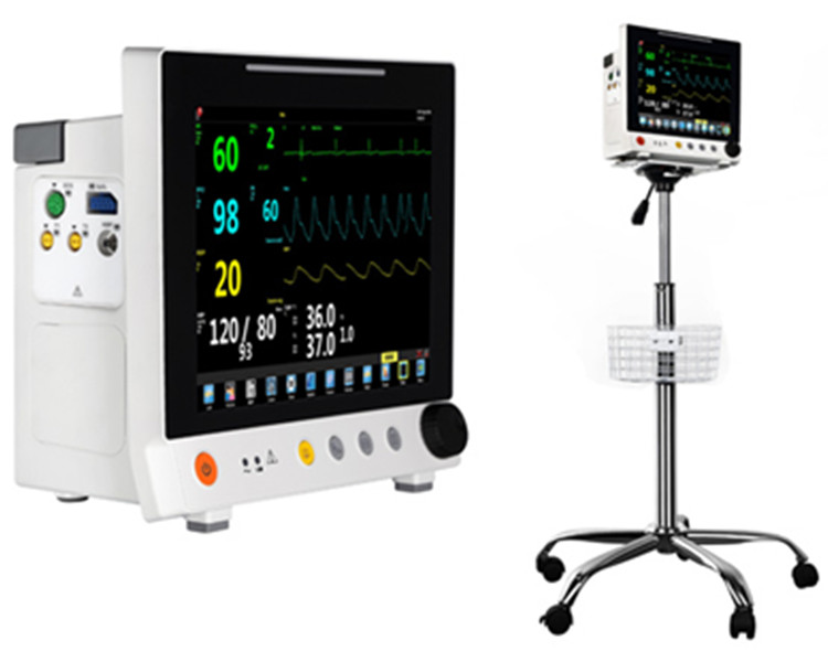 Modular Patient Monitor With Screen