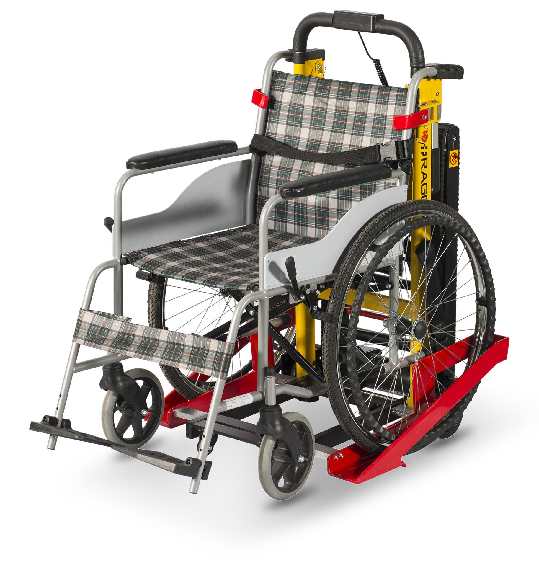 DW-11C Electric Stair Climbing Handcart For Wheelchair