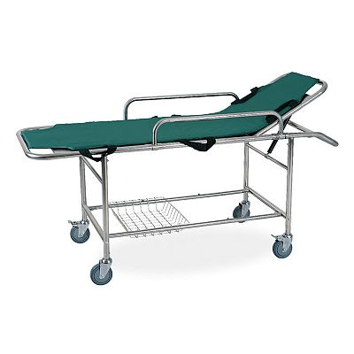 DW-SS007 Stainless Steel Emergency Bed