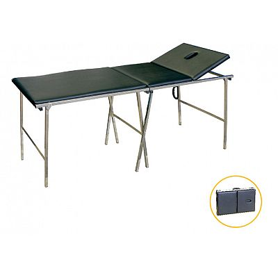 DW-ST098 Stainless steel portable examination couch