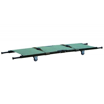 DW-F010X Aluminum alloy folding stretcher With Wheels