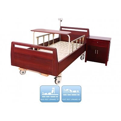 DW-BD188 Manual Nursing Bed With Two Functions