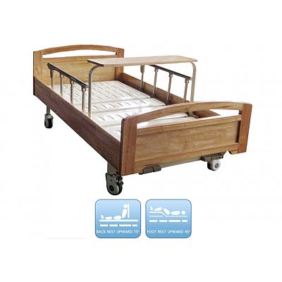 DW-BD189 Manual Nursing Bed With Two Functions