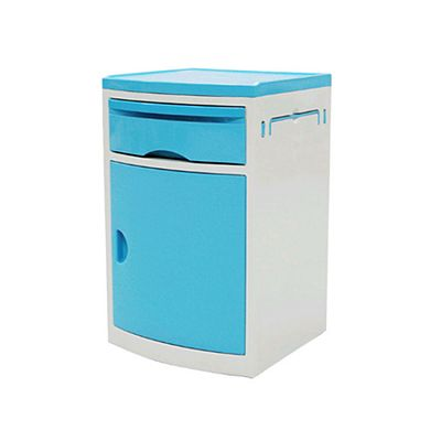 ABS Movable Medical Bedside Cabinet