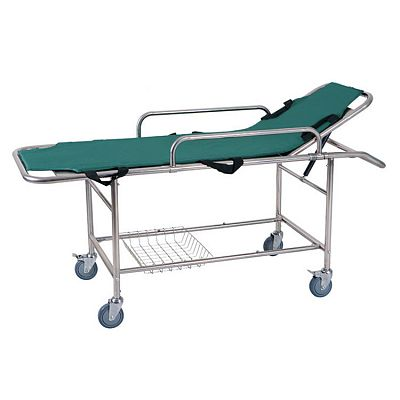 Folding MRI Stainless Steel Emergency Bed