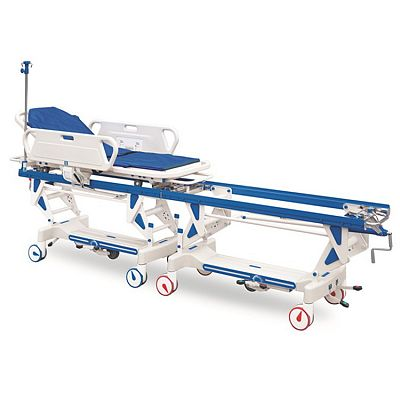 Automatic Connecting Stretcher Trolley