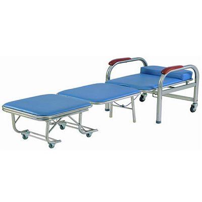 Hospital Stainless Steel Accompanier Chair