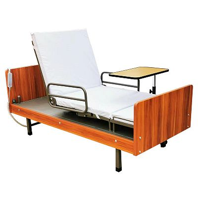 Electric Functional Rotating Nursing Bed