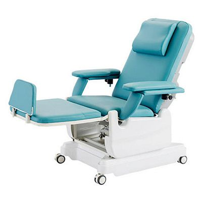 Electric Blood Donation Chair with Castors