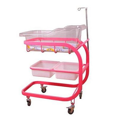 Hospital Double Layers Baby Crib for Sale