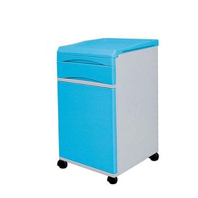 Hospital Bedside Cabinet with Castors